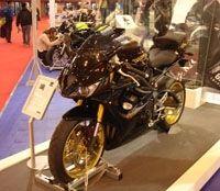 Salon de la moto 2007: Triumph Daytona 675 SE