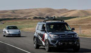 La voiture autonome aura sa journée au circuit du Castellet