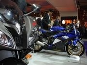 Salon de la moto 2007 en direct : Yamaha YZF R6...
