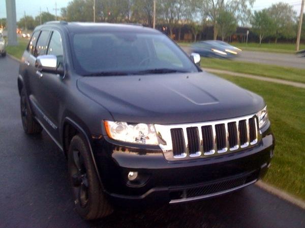 Spyshot : le prochain Jeep Grand Cherokee se promène à Detroit