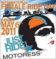 Le 6 mai, c'est la Journée Internationale du Motocyclisme Féminin