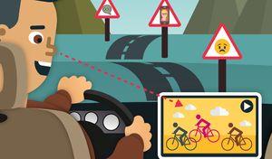 Les jeunes prennent davantage de risques sur la route l'été