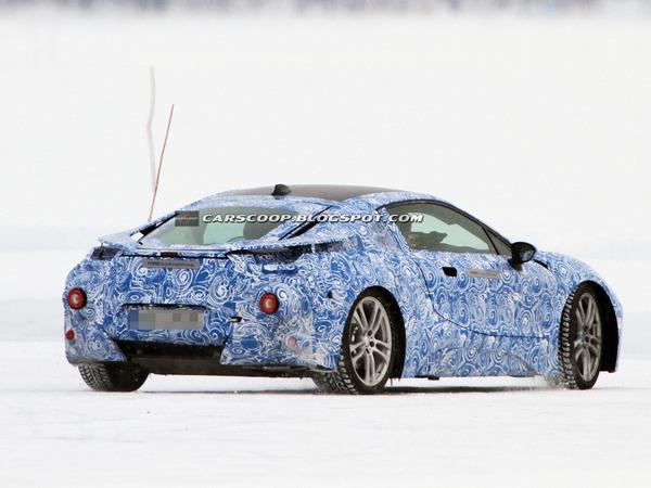 Surprise : la BMW i8 définitive à la neige