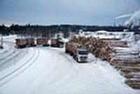 Volvo Trucks veut rendre le transport de bois mois polluant