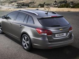 Salon de Genève 2012 - Voici la Chevrolet Cruze SW