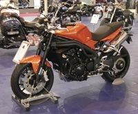 Salon de la moto 2007: Triumph Speed Triple en direct