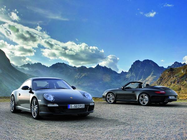 Porsche 911 Black Edition : série noire