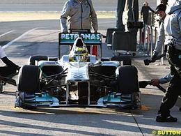 F1-Essais Jerez, jour 3: Rosberg en tête, Grosjean toujours là !