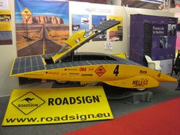 Hélios, le concept-car solaire s'invite au Mondial