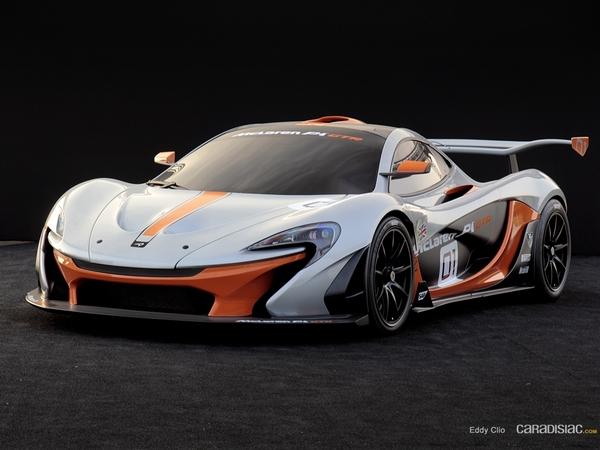 Photos du jour : McLaren P1 GTR (Concours d'élegance de Chantilly)
