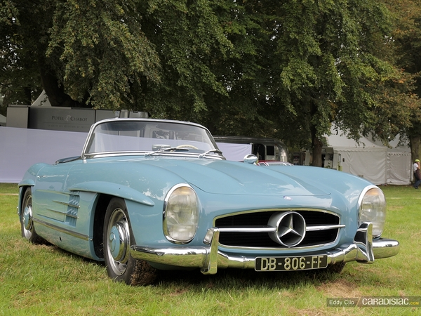 photos du jour mercedes 300 sl roadster concours d 39 legance de chantilly. Black Bedroom Furniture Sets. Home Design Ideas