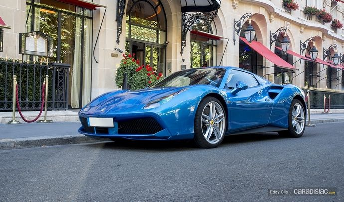 Photos du jour : Ferrari 488 Spider