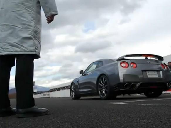 [Vidéo] Un launch control de Nissan GT-R 2011, ça donne ça