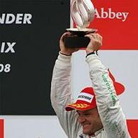 Formule 1 - Grande Bretagne: Barrichello, comme un poisson dans l'eau