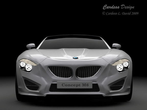 BMW M6 par David Cardoso : pas vraiment raisonnable