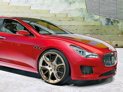 Future Maserati Maseratina Diesel...