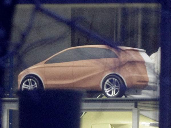 Future Mercedes Classe A : est-ce elle ?