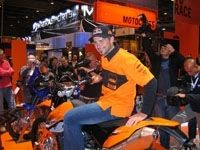 Salon de la moto 2007 en direct : KTM s'active ...
