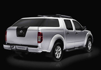 Un nouveau hard top sur le Nissan Navara