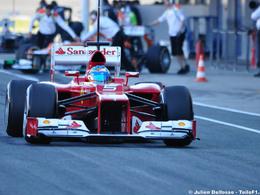 F1-Essais Jerez, jour 4: Alonso se réveille !