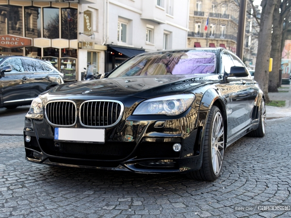 Photos du jour : BMW 760 Li by Lumma