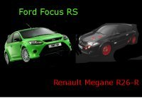 Ford Focus RS et Renault Mégane R26-R sur le Ring ' : le même chrono ?