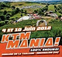 6ème KTM Mania les 9 et juin 2012