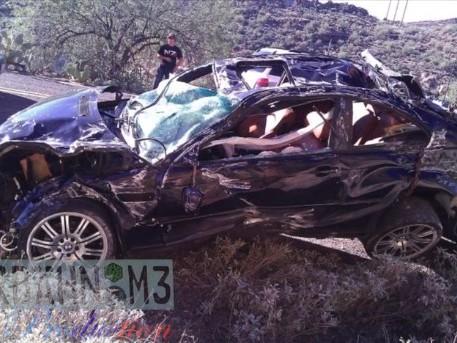 [vidéo crash] : encore un pilote optimiste en BMW M3
