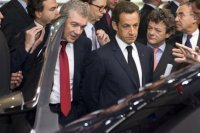 Nicolas Sarkozy rencontre aujourd'hui les acteurs de la filière automobile