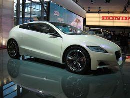 Honda CR-Z Concept : hybride toute !