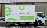 Un prototype d'utilitaire électrique signé Numexia