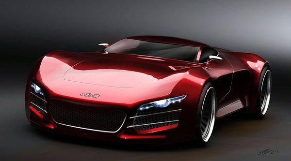 Audi R10 : la R8, c'est pour les fillettes