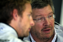 F1 - Contradictions : Ross Brawn veut garder Button !