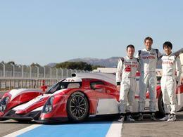 24 Heures du Mans 2012 - Davidson, Buemi et Ishiura sur la 2ème Toyota!
