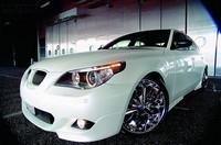BMW M5 E60, le chrome lui va bien..