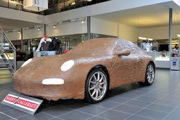 Une Porsche 911 en chocolat pour passer les fêtes