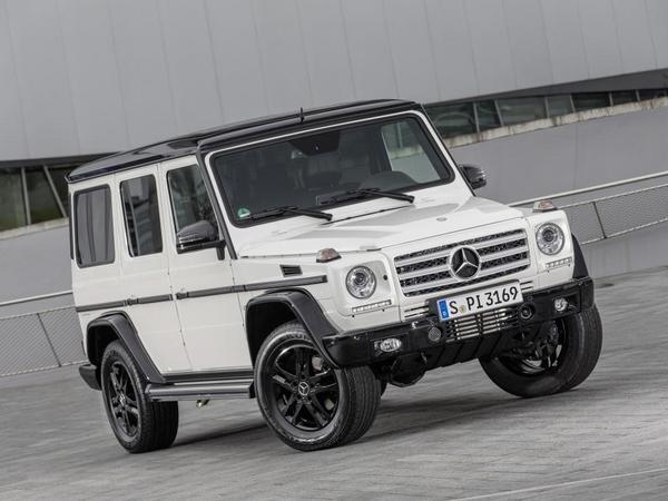 Pour les 35 ans du Classe G, Mercedes lance les séries spéciales Edition 35