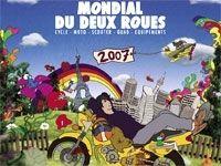 Salon de la moto 2007 : le mondial de la moto fait son cinéma