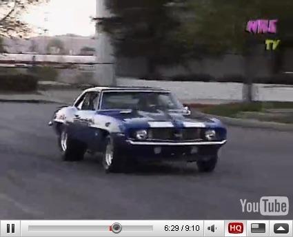 Réveil Auto - Chevrolet Camaro 1969 Nelson Racing : V8, 7.0l, Twinturbo, 1750ch, what else ?