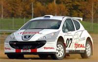 Première victoire de la Peugeot 207 S2000