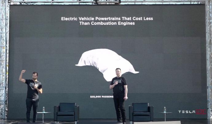 Tesla Battery Day : de grandes annonces, dont une électrique à 25000dollars