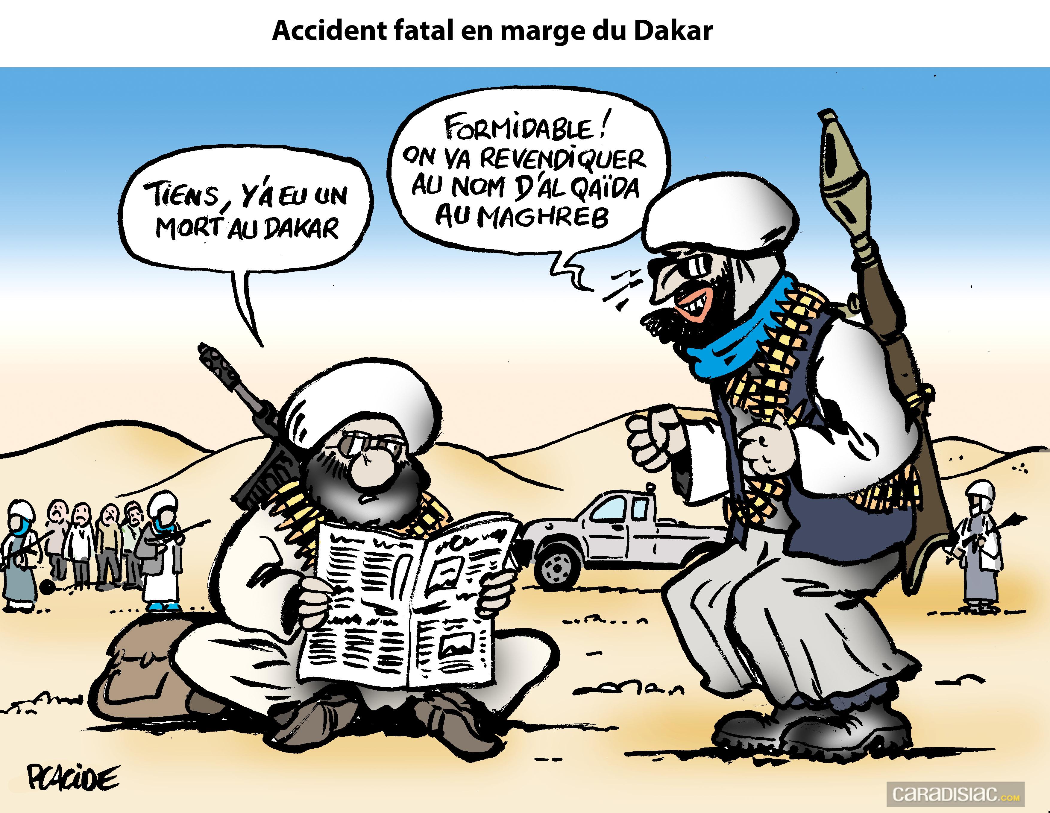 Le dessin du jour revendication imminente d un accident - Dessin d un car ...