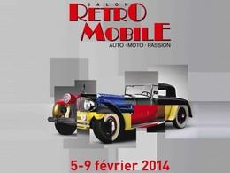 Le salon Rétromobile vous donne déjà rendez-vous en 2014