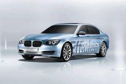 La BMW Série 7 ActiveHybrid équipée des batteries lithium-ion Johson-Control Saft
