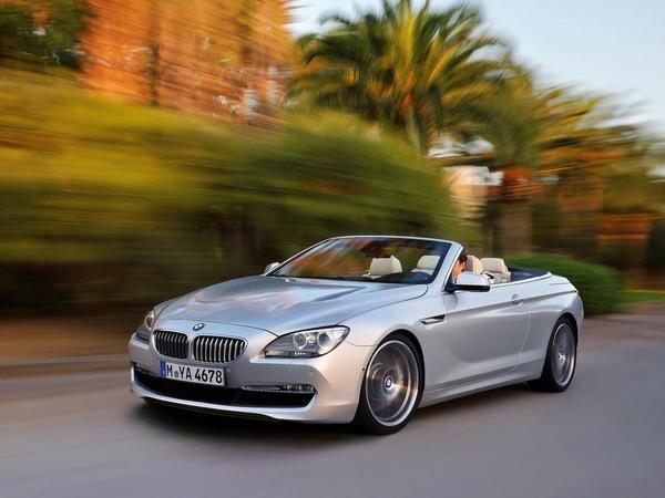 BMW Serie 6 Cabriolet : tarif d'entrée à 87 900 euros
