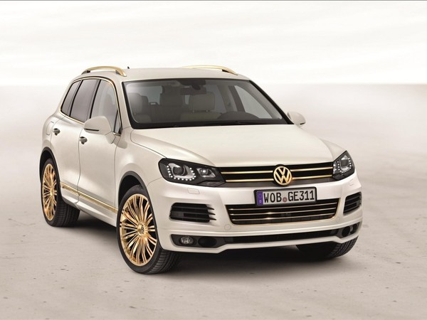 Volkswagen Touareg Gold Edition, saveur locale