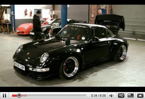 Réveil Auto - Porsche 911 RSR Ninemeister, la menace fantôme
