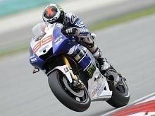 Moto GP - Malaisie qualifiation: Jorge Lorenzo a joué la sécurité