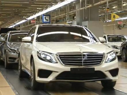 Mercedes nous montre la S63 AMG