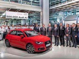 Audi et le Roi des Belges fêtent la 500 000ème A1